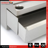 承認されるセリウムが付いているChinzaoのステンレス鋼のカウンタートップの商業電気グリドル