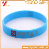 Kundenspezifischer Firmenzeichen-Bildschirm-Silk SilikonWristband für Förderung-Geschenk