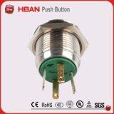(HBGQ16H-1OE/J/S) Mit erhobenem Kopf 16mm Drucktastenschalter