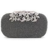 Saco de ombro na moda Eb677 da flor das senhoras da bolsa do banquete do diamante luxuoso