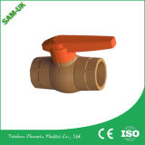 Válvula de bola de PVC Mini