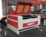 Laser de la tela cortadora de 100 vatios con el sistema que introduce automático