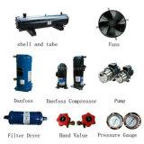 Refrigerador de agua refrescado aire de la baja temperatura para la sequedad del aire comprimido