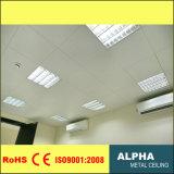 Configuration d'aluminium sur le plafond d'intérieur décoratif faux suspendu en métal