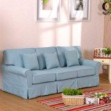 Sofá moderno com projeto da tela para a mobília da sala de visitas