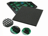 Module polychrome extérieur imperméable à l'eau de l'Afficheur LED P6 d'intense luminosité annonçant le panneau d'écran