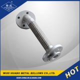 Acompañar la manguera del metal flexible