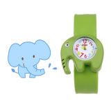 De goedkope PromotieBand van het Horloge van de Kinderen van het Beeldverhaal van de Tik van het Silicone