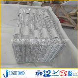 Guter Entwurfs-Stein-Marmor-Aluminiumbienenwabe-Panel für Aufzug-Dekoration