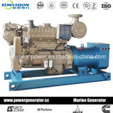 100kw refrigeración por agua Genset marina, motor marina de Cummins con CCS/BV