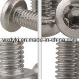 Edelstahl-Befestigungsteil Hexalobular Kontaktbuchse-runder Hauptmaschinen-Schrauben-Befestigungsteil-Lieferant von China N-Düngung E 25-109