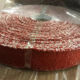 Ruban en tissu de fibre de verre revêtu de silicone à isolation thermique à haute température