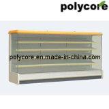 Abrir o Showcase horizontal do indicador do Refrigeration