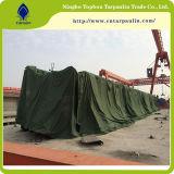 Tela incatramata rivestita dei tessuti del PVC di prezzi di fabbrica per le merci del coperchio di PVC