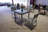 Cadeiras simples da loja do chá da tabela quadrada pequena fresca da sobremesa