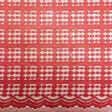 2016 새로운 패턴 크로셰 뜨개질 나일론 직물 레이스