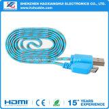 Tejido para el cable de la sinc. de los datos del USB 3.0 de la galaxia Note3 S5 de Samsung