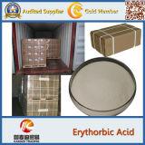 Ácido Erythorbic do produto comestível dos antioxidantes (CAS: 6381-77-7)