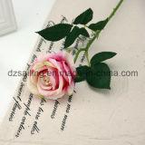 Оптовый цветок Rose венчания бархата для украшения (SF16222)