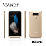 Mtk 6580 Double Camera 5.0 polegadas Qhd Quad Band Mobile Phone com GSM 3G Smartphone
