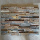 Pedra natural da cultura da ardósia da alta qualidade para a parede