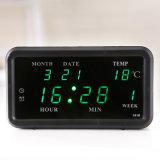 [Ganxin] 최신 판매! 승진 선물을%s 통제 LED 달력 디지털 시계를 전환하십시오