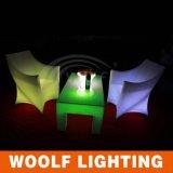 Licht op PE Plastic Stoel Chairs/LED/Lichte Zetel