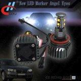 Olhos do anjo do marcador do diodo emissor de luz de E92 8LED 40W com ventilador