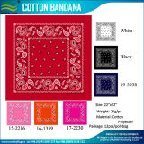 Paisley Pattern Cheap Cotton Custom Bandana für Sale (M-NF20F19004)