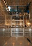 Подъем строительного подъемника с механизмом реечной передачи