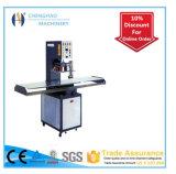 Máquina que graba de la carpeta de cuero, marca registrada que hace la máquina, certificación del Ce