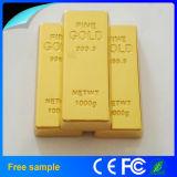 Metallgoldstab-Speicher-Stock der freies Beispielförderung-8GB