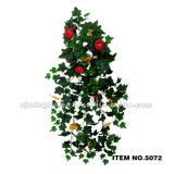 5077의 도매 신식 꽃 벽 커튼 덩굴 플랜트