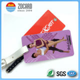 TravelのPrintingカスタムPVC Luggage Tag