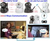De draadloze Camera van PT van de Schuine stand van WiFi Megapixel IP van het Netwerk Mini Pan