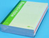 얇은 표지 구성 책을 인쇄하는 관례