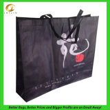 Bolso de compras no tejido impreso hoja (LJ-93)