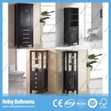Amerikanische heiße verkaufende moderne Furnierholz-Seiten-Badezimmer-Eitelkeit (SC111W)