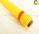 Tessuti di maglia di colore giallo 150t-31y-158cm della maglia del Canada