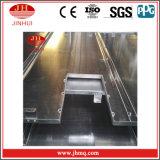 Aluminiumfassade-Umhüllung-vorher abgeschlossene Aluminiumzwischenwand (JH190)