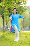 Ropa de la práctica del ocio del resorte de las mujeres de la ji del Tai del Taoism y del lino del verano