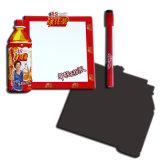 Magnete facile del frigorifero dell'appunto della scheda di scrittura per la promozione