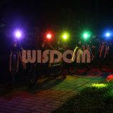 Faro impermeabile del CREE, illuminazione facoltativa della bici del LED con l'indicatore luminoso verde
