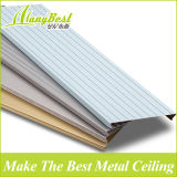 2016 aluminio decorativo lineal Strech de techo