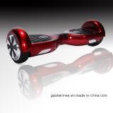 """""""trotinette"""" elétrico do contrapeso do auto do skate da bicicleta elétrica elétrica esperta vermelha do """"trotinette"""" da mobilidade"""