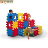 A construção inteligente do bebê do brinquedo das crianças obstrui brinquedos