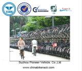Cremalheira de bicicleta do autocarro de dois andares feita em China