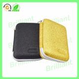 Caisse cosmétique d'or dure d'EVA de mode faite sur commande (JCC005)