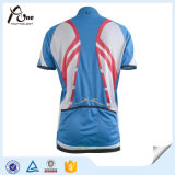 Short su ordinazione Sleeve Jersey Bicycle Clothing per Women