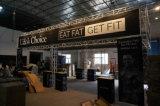 Портативная алюминиевая будочка торговой выставки ферменной конструкции
